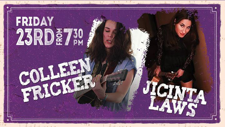 Enjoy Live Music performed by Jacinta Laws & Colleen Fricker  - blog post image