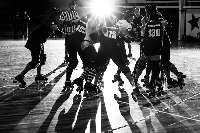 High Stakes on Skates in Roller Derby Event - blog post image