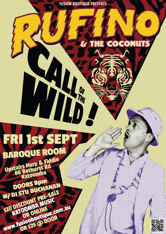 WIN! Call Of The Wild Feat. Rufino and The Coconuts - blog post image