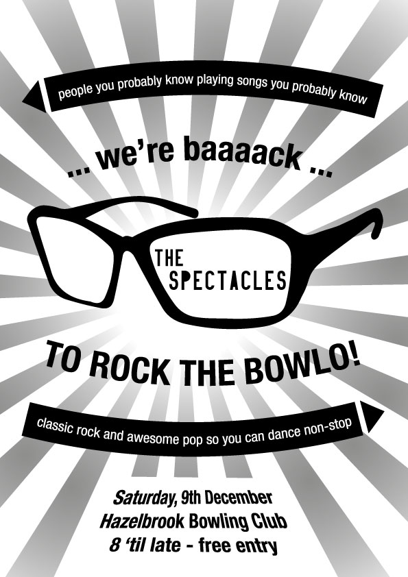 The Spectacles are back at the Bowlo! - blog post image