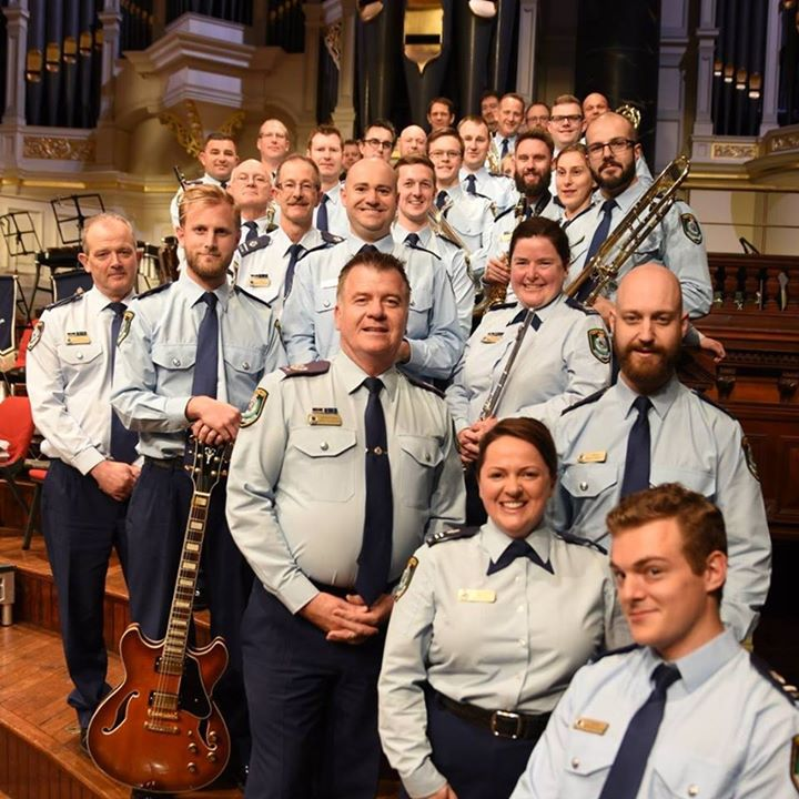 NSW Police Band line-up music classics to perform @ the Joan - blog post image