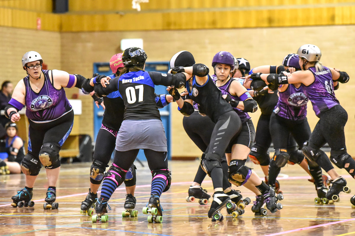 Derby Dames 'Free Sisters' in Armageddon Tournament - blog post image
