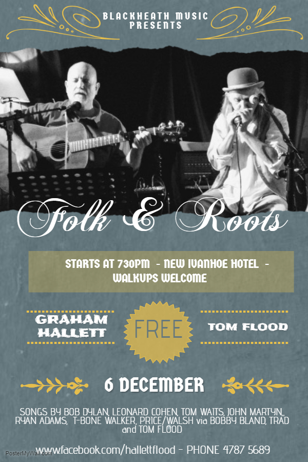 Blackheath Folk & Roots Night - blog post image