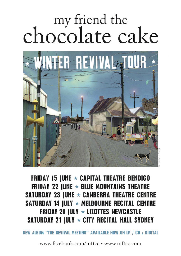 My Friend the Chocolate Cake warming audiences with 'Winter Revival Tour' - blog post image
