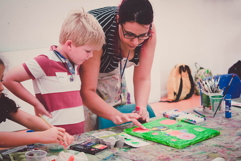 Penrith Regional Gallery - Education Workshops for the whole family!  - blog post image
