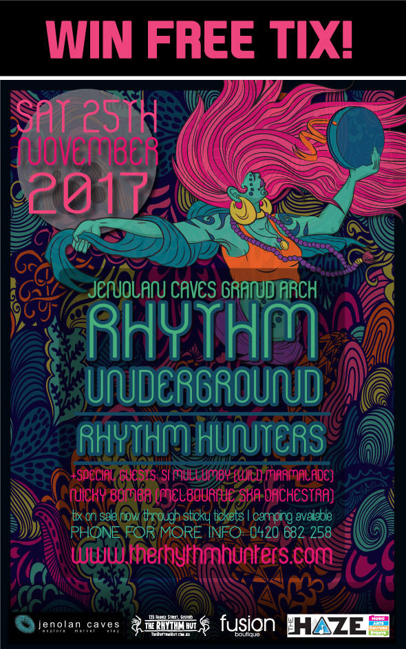WIN! Rhythm Underground Double Pass - blog post image