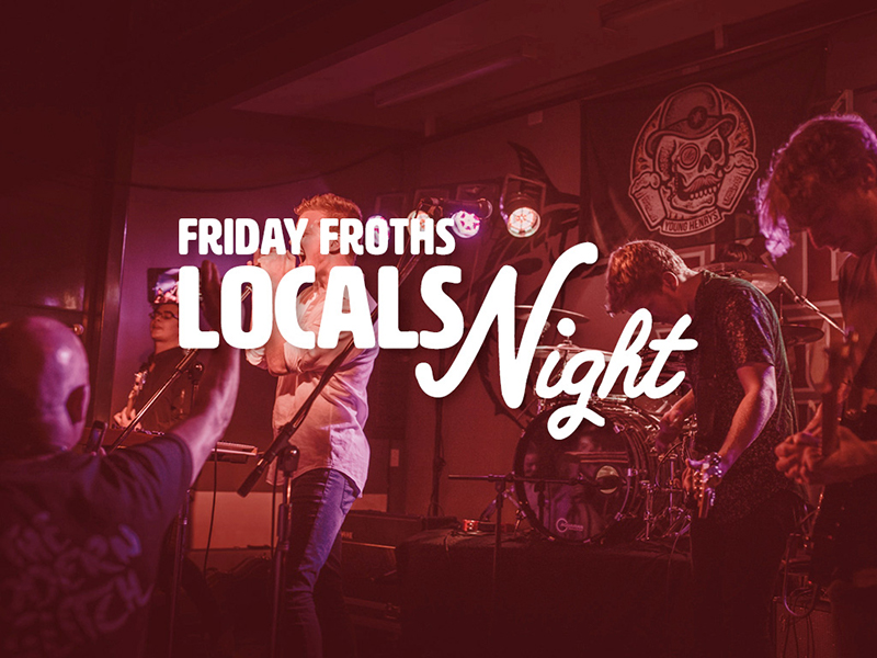 Return of the Friday Froths Night - blog post image