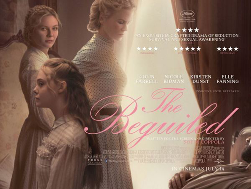 Film Review: The Beguiled (2017) - blog post image